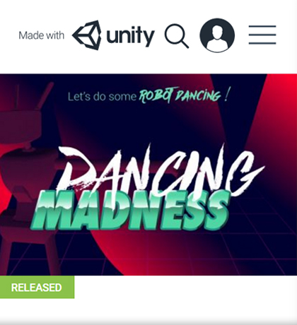 DancingMadness made with unity
